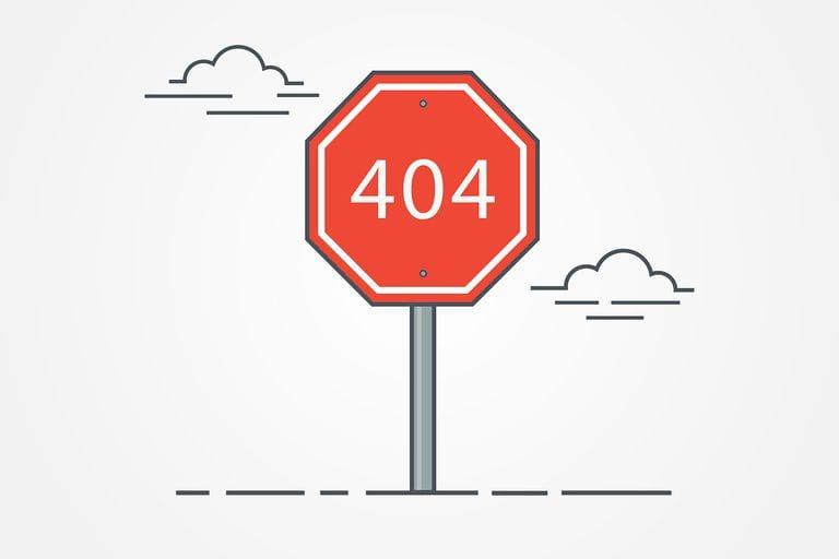 fix 404 pages